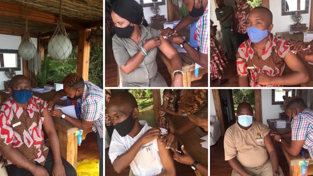 covid-19 vaccine, Tongabezi Lodge, Zambia vaccination drive